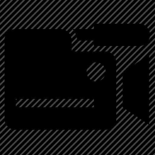 action, camera, video icon