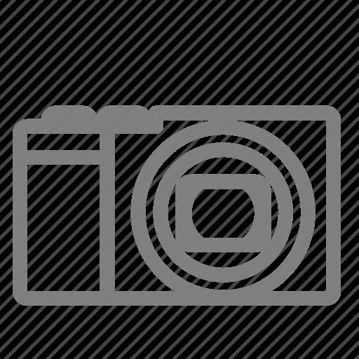 camera, interchangable, lens, mirrorless, vintage icon