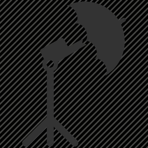 photo, photo studio, photograph, photography, reflect, studio, umbrella icon