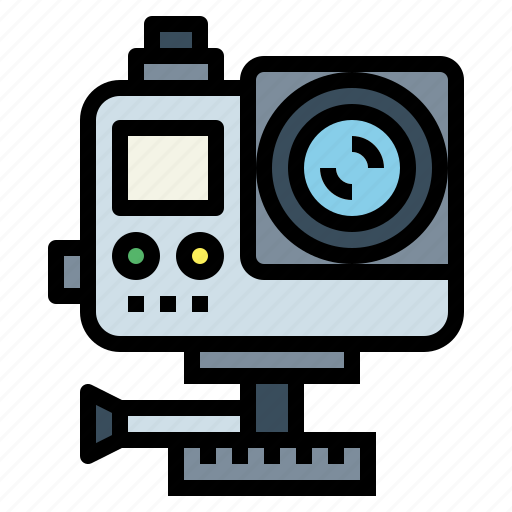 Camera, gopro, technology, travel icon - Download on Iconfinder