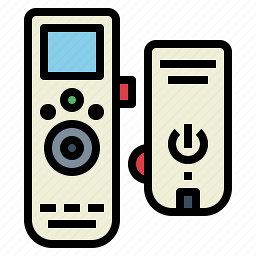 control, electronics, remote, wireless icon