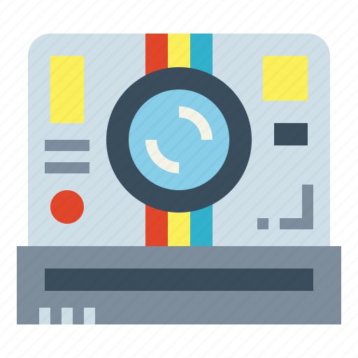 Camera, photograph, polaroid, technology icon - Download on Iconfinder
