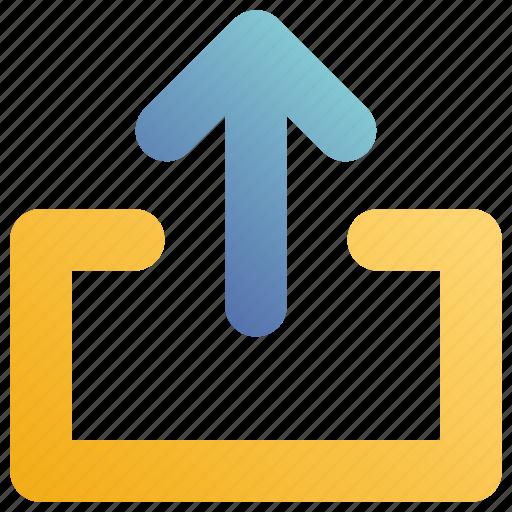 arrow, send, up icon