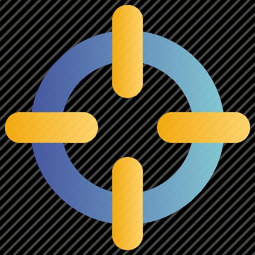 Bulls eye, focus, goal, target icon - Download on Iconfinder