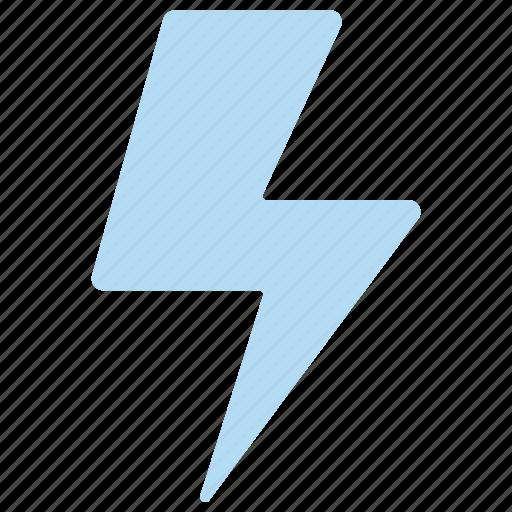 electricity, flash, light, thunder icon