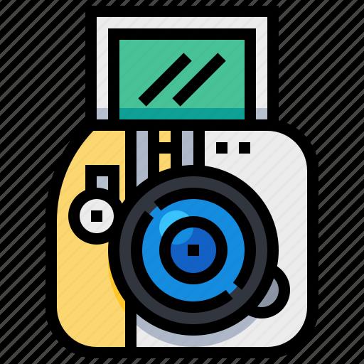 camera, dslr, film, instant, photo, photography icon