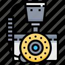 camera, dslr, flash, macro, photo, photography, ring icon