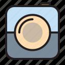camera, digital, photograph, technology