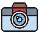 camera, digital, photograph, technology icon