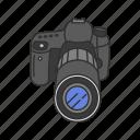 digital camera, photo, photography, picture, pro dslr, travel icon