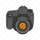 digital camera, dslr, photo, photography, picture, pro dslr, travel icon