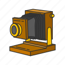 camera, photo, photography, picture, travel, vintage camera icon