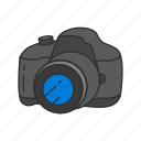camera, digital slr, dslr, photo, photography, picture, travel icon