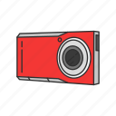 camcorder, camera, digital camera, photography, picture, travel icon