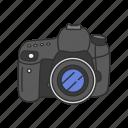 camera, digital slr, dslr, photography, picture, pro dslr icon