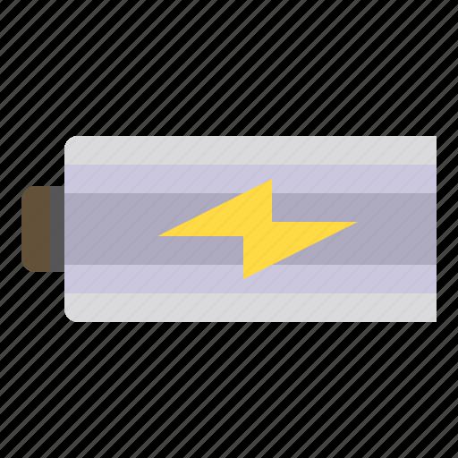 battery, photograph, technology, thunder icon