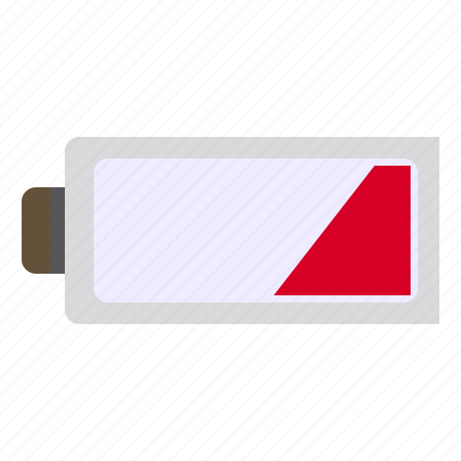 battery, low, photograph, power, technology icon
