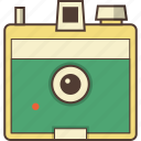 camera, film, film camera, picture, polaroid icon