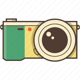 camera, compact digital camera, digital camera, photo, photography, sony icon