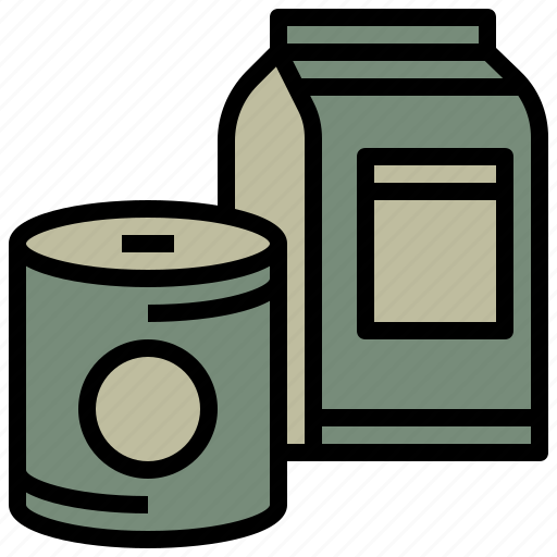 can, canned, drink, food, gastronomy, healthy, restaurant icon