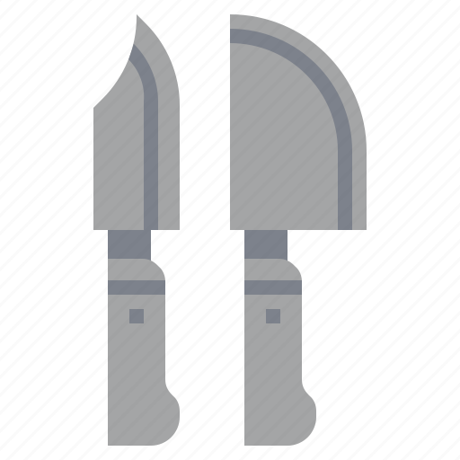 cut, cutlery, cutting, food, knife, knifes, meat icon