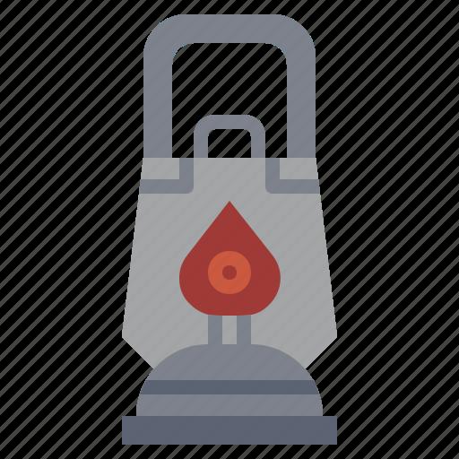 bulb, camping, candle, illumination, lamp, lantern, light icon