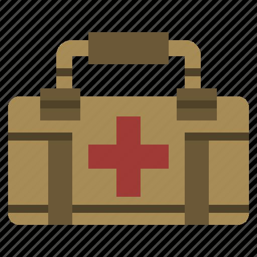 aid, emergency, first, hospital, kit, medical, medicine icon