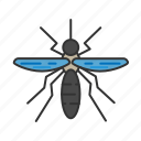animal, bite, inching, insect, mosquito, nature icon