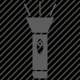 flash, flashlight icon