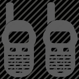 portable radio, radio icon