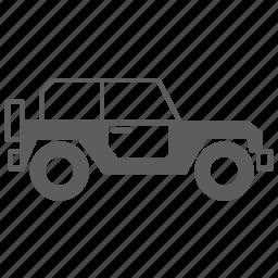 automobile, car, offroad, suv, transportation, travel, van icon