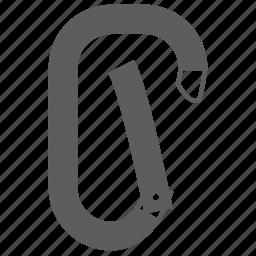 carabiner climber icon