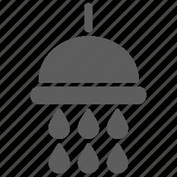 bath, bathroom, drop, shower, toilet, water icon