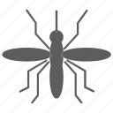 insect, mosquito, nature, virus, zika icon