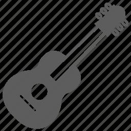 guitar, instrument, music icon