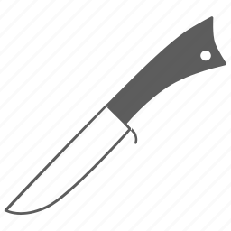 blade, cut, kitchen, knife, tool, weapon icon