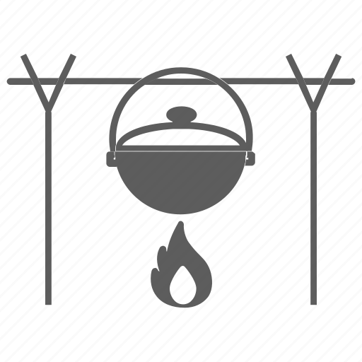 cook, cooking, fire, food, kitchen, meal, pot icon