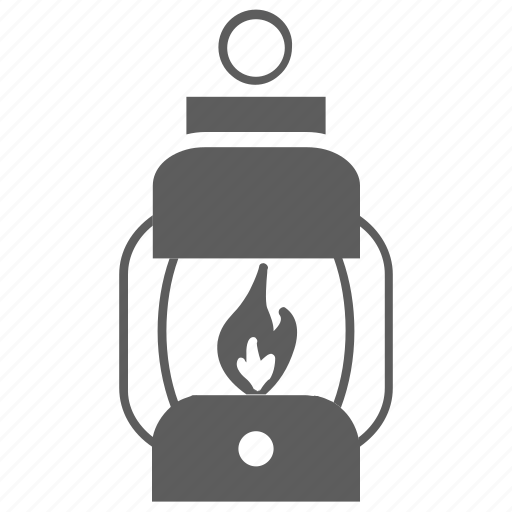 bulb, burn, fire, lamp, lantern, light icon