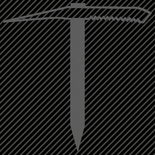 ax, ice ax, tool, tools icon