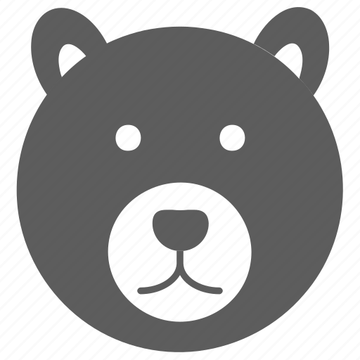 avatar, bear, face icon