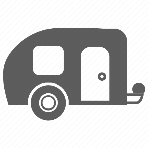 camper, transport, transportation, travel, vacation, van, vehicle icon