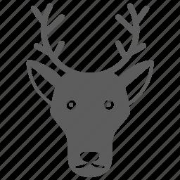 animal, deer, pet icon