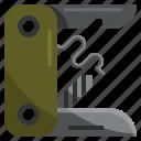 camping, hiking, knife, park, pocket, tools icon