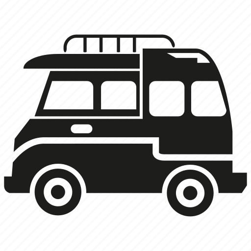 camping car, car, rv, rv car, travel, van, vehicle icon
