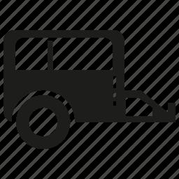 motor home, rv, rv car, truk icon
