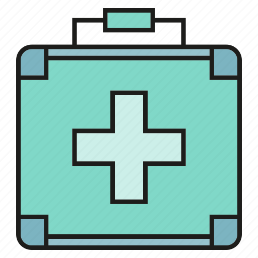 Firts aid kit, heal, health, medical bag icon - Download on Iconfinder