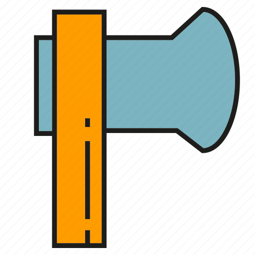 Ax, axe, cleaver, logger, lumberer icon - Download on Iconfinder