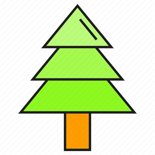 christmas tree, nature, pine, tree icon