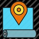 map, location, pin, gps