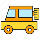 car, road, transportation, vehicle icon